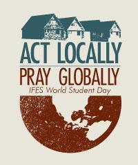 Act locally, pray globally