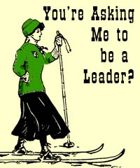 For SP - Asking me to be a leader?