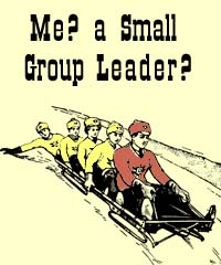 SP - Me? A small-group leader?