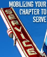 mobilizing your chapter to serve