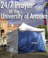 prayer tent