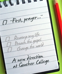 SP - First, prayer