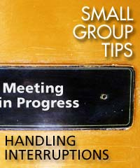 handling interruptions