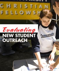 Evaluating new student outreach