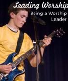 Being a worship leader